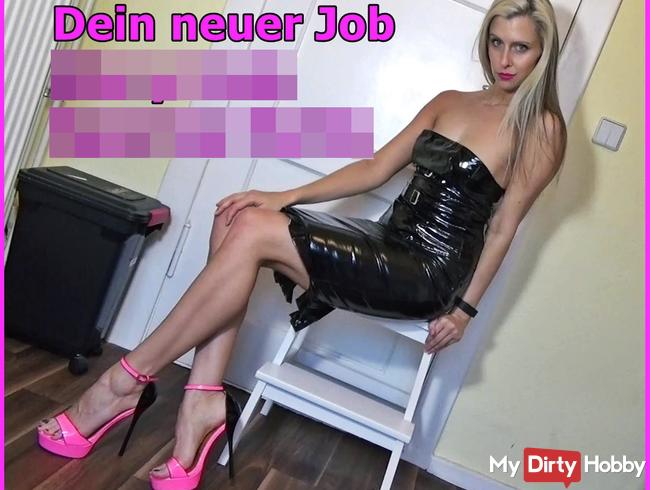 Dein neuer Job - Glory Hole Sperma Nutte