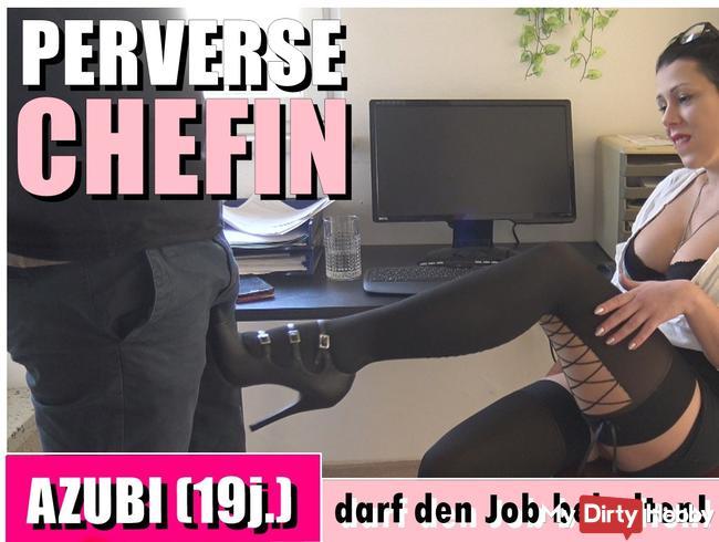 Perverse Chefin! AZUBI (19j.) darf den Job behalten - VORERST!