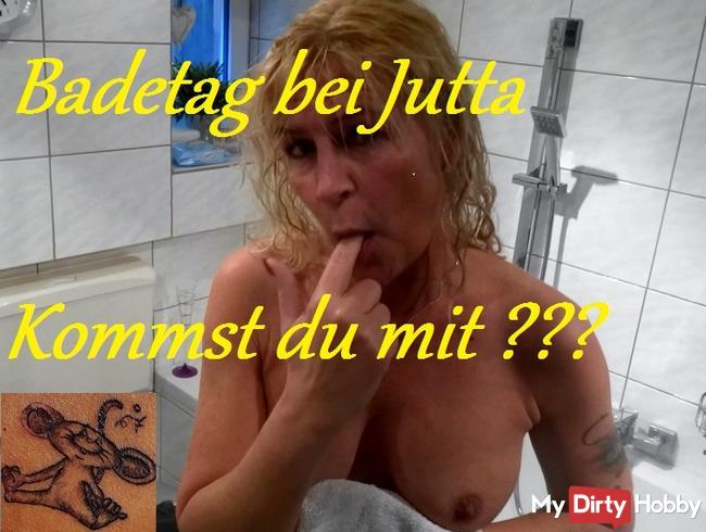 Versauter Badespass mit Jutta