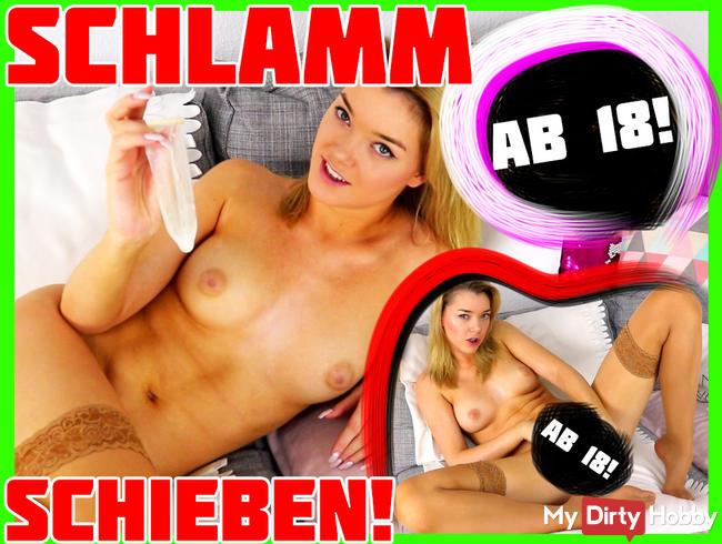 SCHLAMMSCHIEBEN - Sperma aus benutztem Kondom :O | Anny Aurora