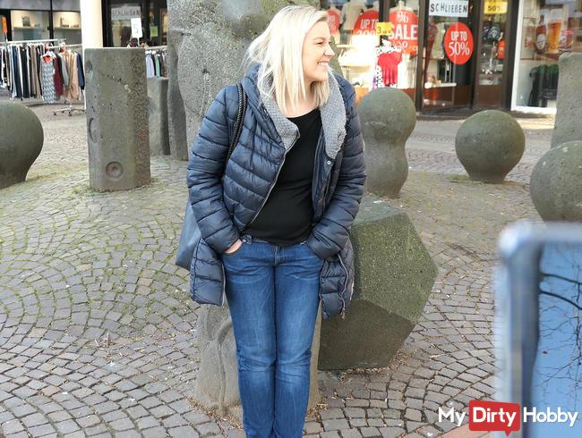 Public-Orgasmus in Gießens Innenstadt