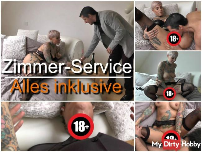 Zimmer-Service! AO-Fick inklusive!