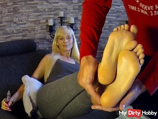 Fuß Massage mal anderst mit Folgen