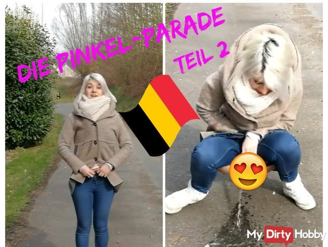 Zweite Etappe in Belgien