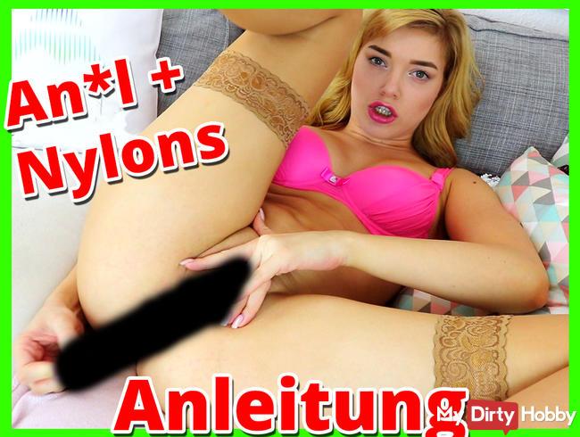ANAL & NYLONS - geile Wichsanleitung für dich!