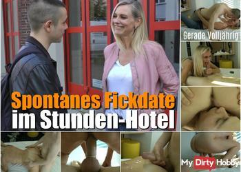 Gerade Volljährig I Spontanes Fickdate im Stunden-Hotel !