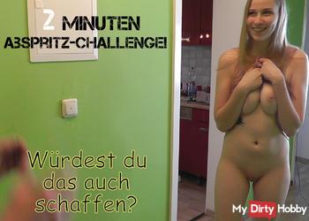 2 Minuten Abspritz-Challenge!