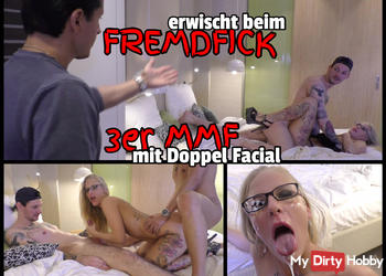 Beim FREMDFICK erwischt - Von 2 Schwänzen zerfickt und vollgespritzt