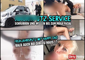 NACKTPUTZ FICK-SERVICE | Wahnsinns Facial nach Frühjahrsputz