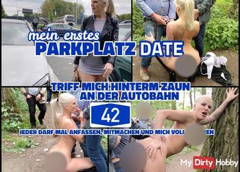 Parkplatz Date an der A42 | Jeder darf mich benutzen und vollspritzen