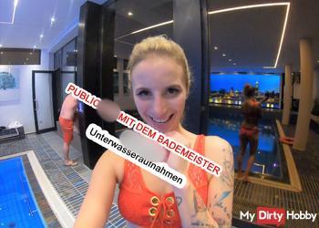 PUBLICSEX MIT DEM BADEMEISTER!!! spritzige Unterwasseraufnahmen
