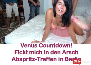 Venus-Countdown! Abspritz-Treff in Berlin