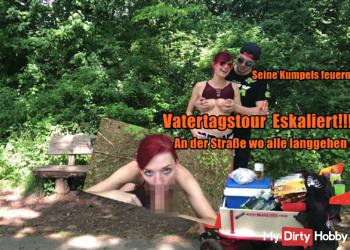 Vatertags-Tour eskaliert!