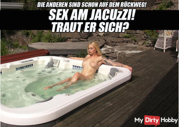 SEX AM JACUZZI! - TRAUT ER SICH?   LUCY CAT