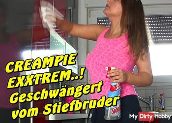 Creampie Extrem! Geschwängert vom Stiefbruder
