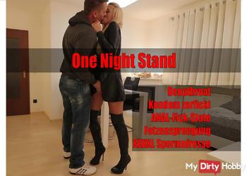 ONE NIGHT STAND Schlampe! 3Loch Fickstute bekommt XXL Spermafresse!