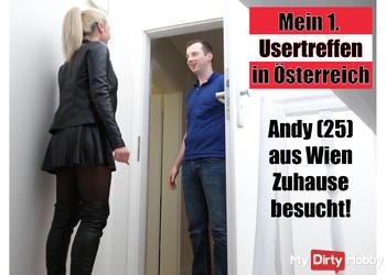 Mein 1. Usertreffen in Österreich | Andy (25) aus Wien Zuhause besucht!