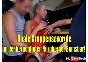 Anale Gruppensex-Orgie in der berüchtigten Nürnberger Bumsbar!