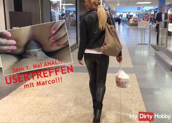 USERTREFFEN mit Marco! Sein 1. Mal ANAL!!!!!!