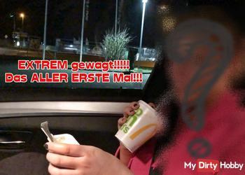 EXTREM gewagt!!!!!  Das ALLER ERSTE Mal!!!