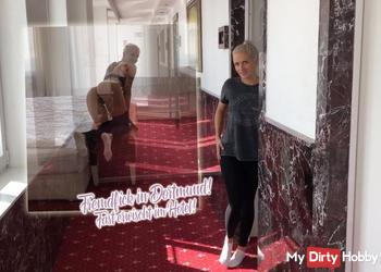Fremdfick in Dortmund! Fast erwischt im Hotel!
