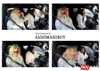 Kinky drive in Bucharest