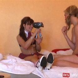 Naughty Teeny Girls seduce teacher!
