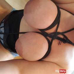 Breasts tied live cam