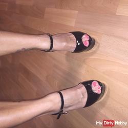 My hot feet!