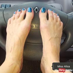 On request: feet and autopedale