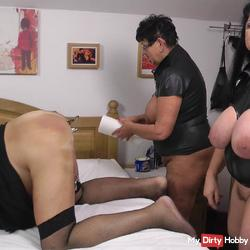 Preview Gallery for Video 2 Tittenmilfs piss slave in the ass