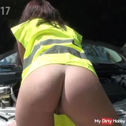Outdoor creampie fuck with service guy - Nichtmehr17