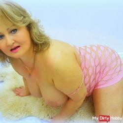 Sexy horny busty mature