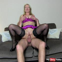 22x6 monster blows up several times my pussy
