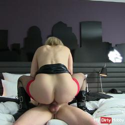 Hotel whore fucked and ripped off!