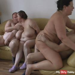 Group sex with horny goats 3