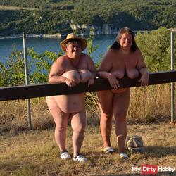fat naked lesbians on the railing 1