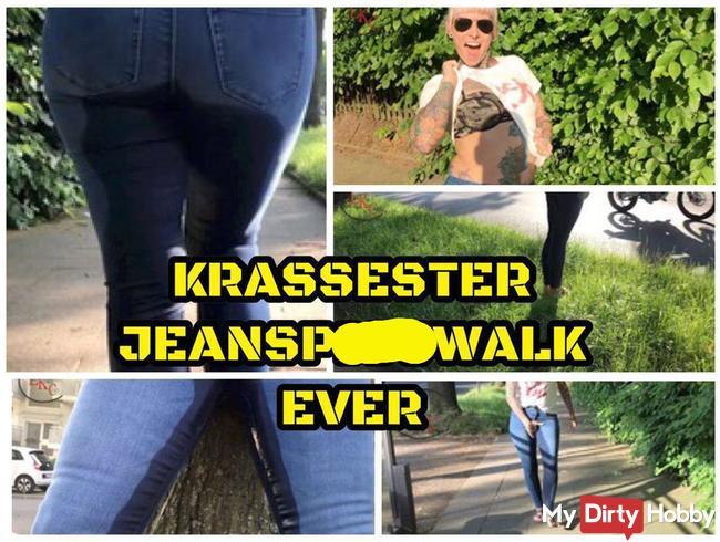Krassester Jeanspisswalk ever