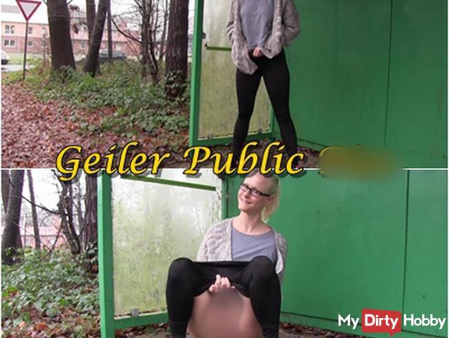 Geiler Public Piss