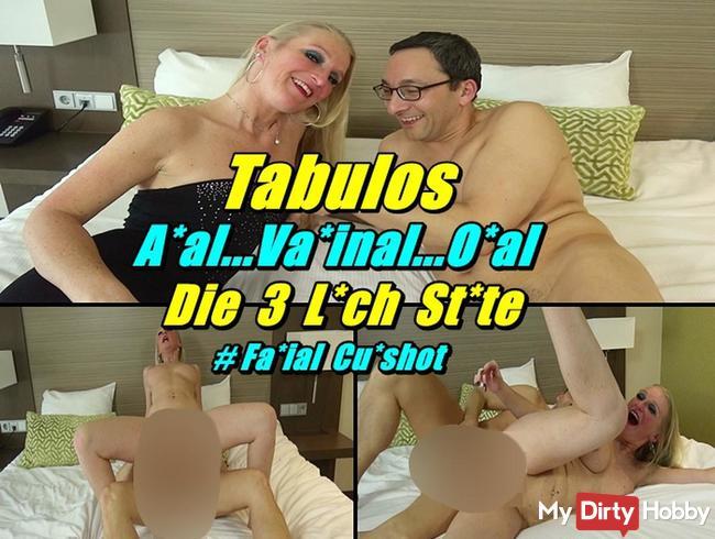 Tabulos - Anal..Vaginal..Oral - Die 3 Loch Stute