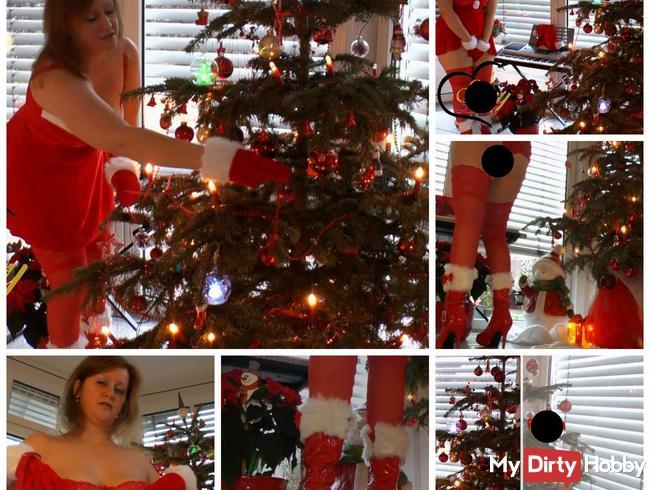 Pissen unterm Weihnachtsbaum