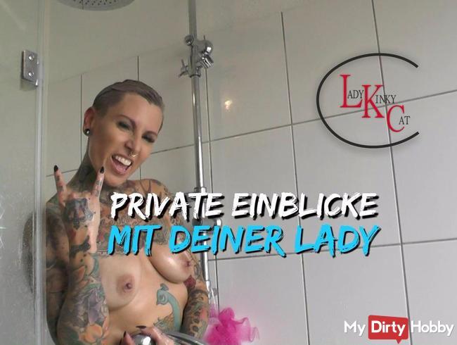 Privat gepisst mit deiner Lady