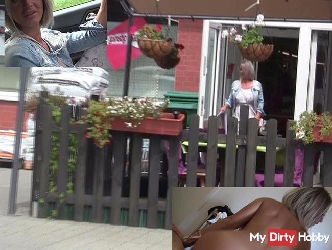 Heftig! Fremdfick mit Typ vom Markt und seine alte ist zu Hause !