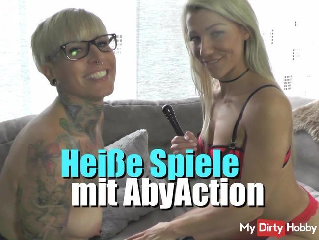 Lesbische Spiele mit AbyAction