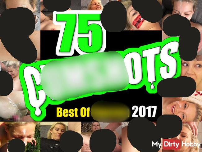 75 Cumshots! Best Of Sperma 2017