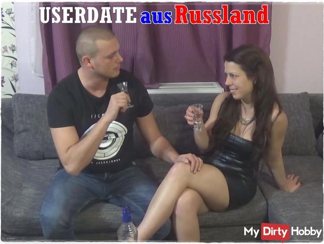 USERDATE - Mein 1. Mal mit einem RUSSEN!