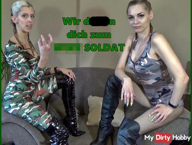 Wir drillen dich zum WIXX SOLDAT