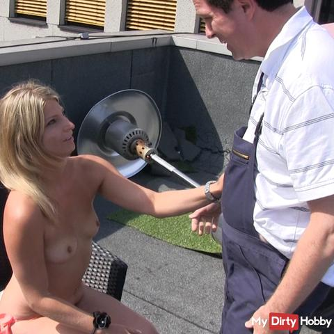 Blowjob for mums HAUSMEISTER
