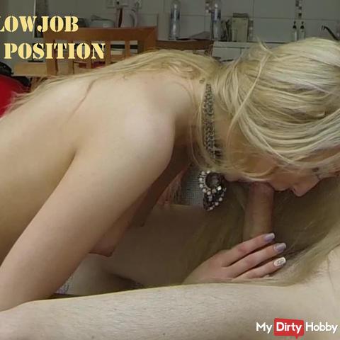 Erster Blowjob - auf den Knien