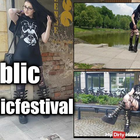 In Public auf Gothicfestival